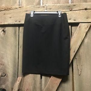 ELLEN TRACY black pencil style skirt size 6